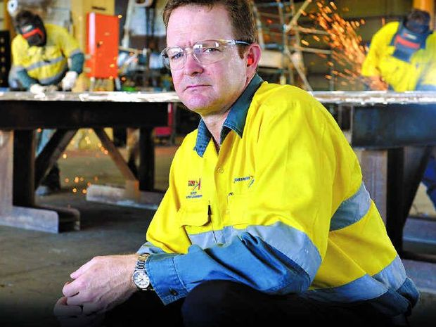 G&S; managing director Mick Crowe is preparing for several contracts at the Caval Ridge Mine.