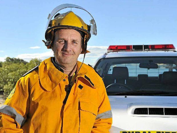 BUSY ROLE: Rural fire brigade officer Dave Kretschmer.