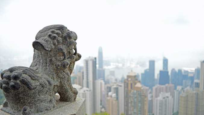 The view from The Peak at Hong Kong. Photo: Megan Mackander