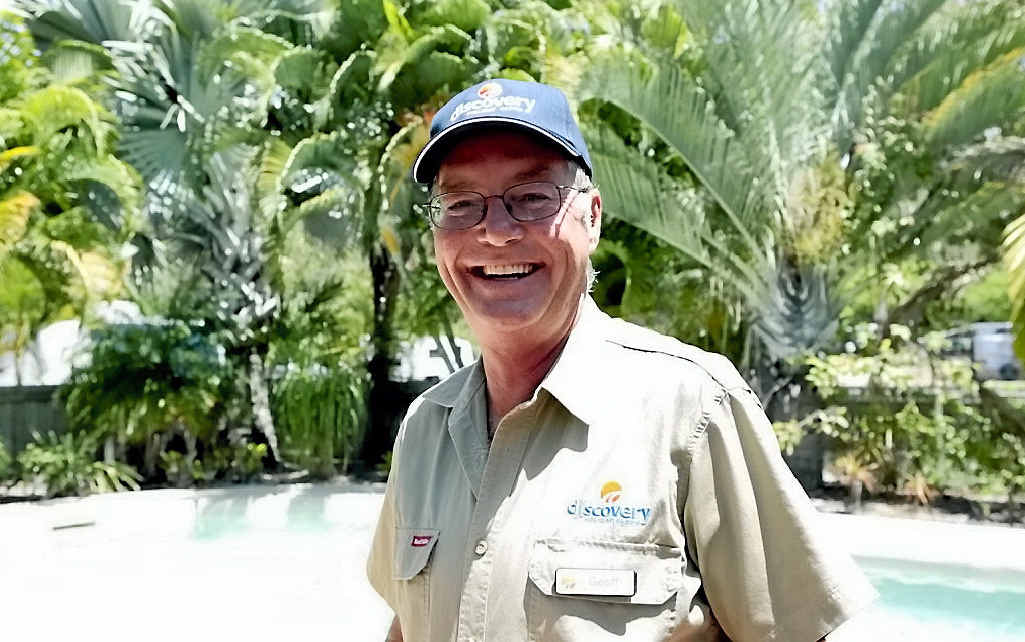 SPOTLIGHT: Geoff Batchelor is not your average holiday park manager.