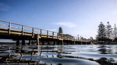 The Brunswick Heads bridge - I'm sure lots of people have fond memories of jumping off it into the river.