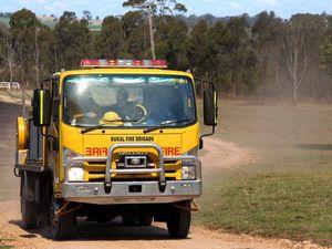 Vegetation fire at Moorlands