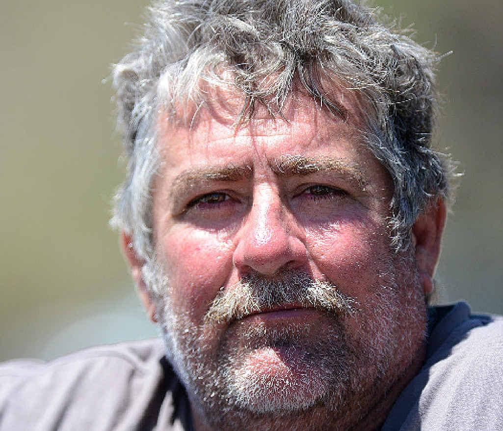 NO NETS: Anti-shark net advocate Kev Phillips says Rainbow Beach should get rid of the shark nets.