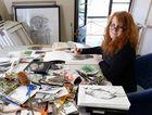LOCAL TALENT: Ipswich artist Sharon McKenzie has won the Wayne Kratzmann Award.