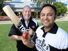 The Queensland Times editor Peter Chapman and Raj Sharma are looking forward to the Harmony cricket match held in conjunction with Diwali on Sunday.