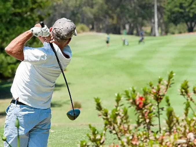 TEEING OFF: The Coffs Harbour Golf Club's 64th annual Pure Blonde Festival of Golf gets under way today. Photo: Rob Wright