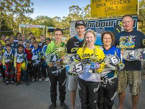 Harbour City BMX riders blitz state titles