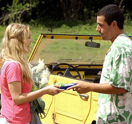 A scene from 50 First Dates, which begins at 8.30PM