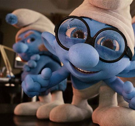 Smurfs starts at 6.15PM