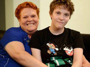 Rockhampton teen tells of cancer encounter