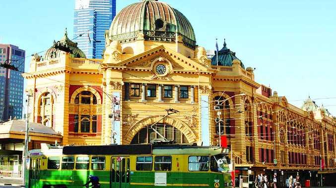 Flinders Street Station has style.