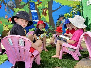 Mural adds new life to kindergarten