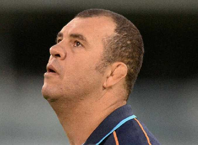 IN THE MIX: NSW Waratahs head coach Michael Cheika may be offered the Wallabies' top job.