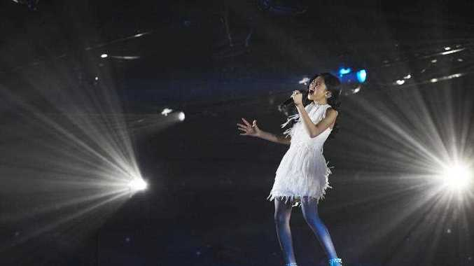 A supplied image obtained Tuesday, Oct. 14, 2014 of X-Factor 2014 finalist Marlisa Punzalan.