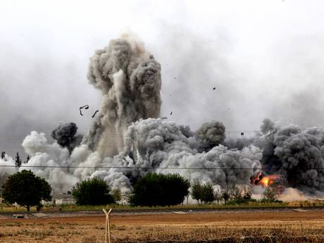The battle for control of Kobani between Kurds and Isis fighters has raged for a month