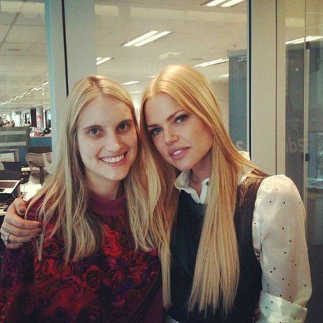 Jasmine Quarman with Sophie Monk.