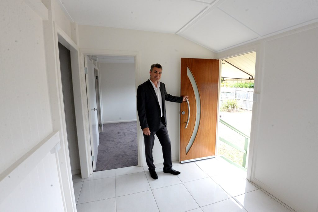 HOUSE PRICES: Will Brelsford from Synergy Property Specialists. Photo: Mike Knott / NewsMail