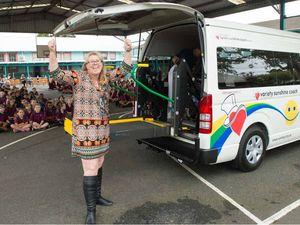 Variety bus boosts school