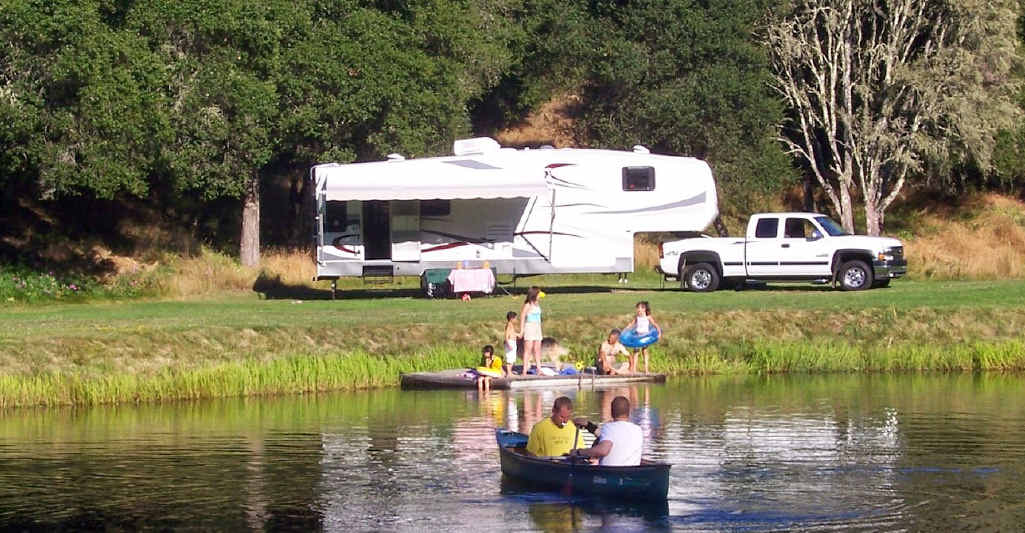WIN-WIN: Campers can stay on private property if the landholder gives permission.