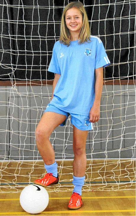 TOP EFFORT: Keaa Parrish will play futsal in America and Brazil next year.