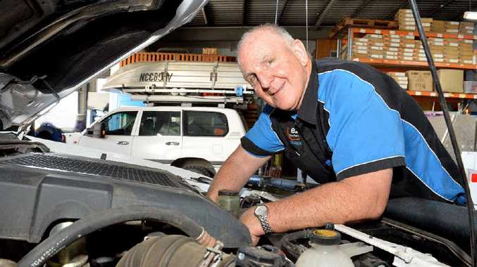 Derek Davis, of Mackay firm Ezy Mechanical, believes motor vehicle owners like dealing with locally-operated businesses they can trust.