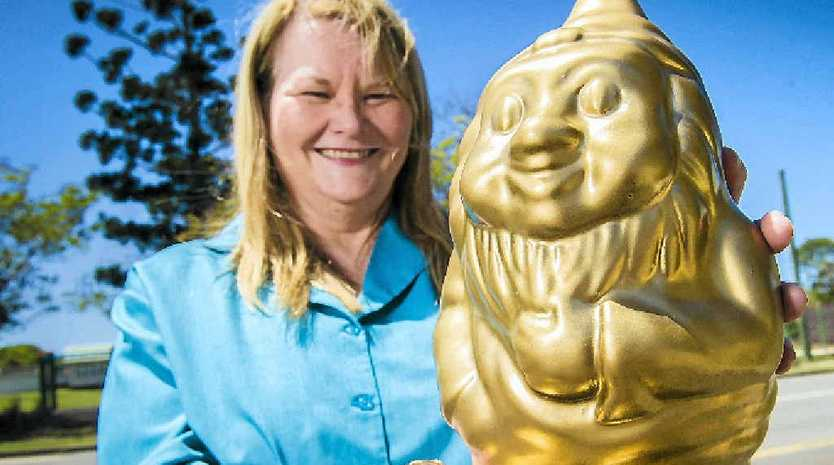 COMMUNITY CHAMP: Robyn Liddell is a keen RuneScape player, receiving the Golden Gnome Award Community Champion for 2014.
