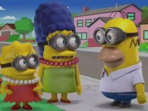 Simpsons spoof Pokemon, Adventure Time, Despicable Me