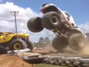 Monster trucks come to Gympie