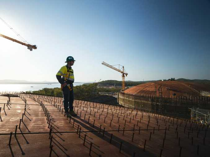 2015 is shaping up as a massive year in the Queensland's liquefied natural gas industry.