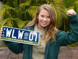 Bindi Irwin backs new wildlife warrior number plates
