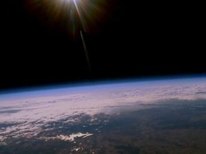 Space cowboy: Teen sends balloon into orbit