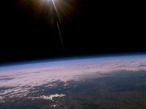 Space cowboy: Teen sends balloon into orbit
