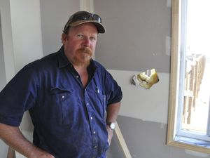 Builder frustrated by theft
