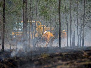 Blaze destroys bushland at Kolonga