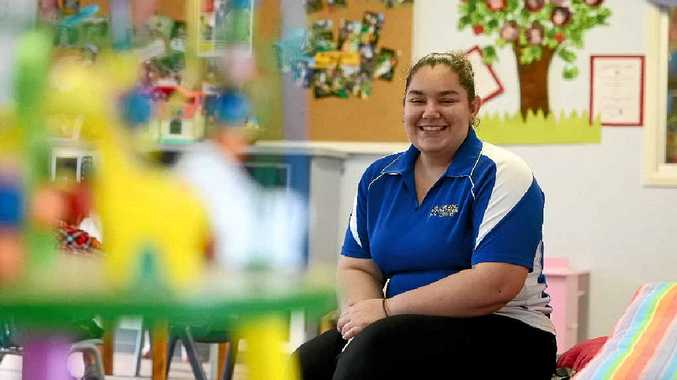TOP STUDENT: Trinity Year 12 student Samantha Tindiglia is the NSW and ACT School-Based Apprentice/Trainee of the Year.