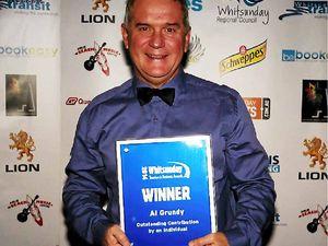 Al Grundy honoured to receive major award