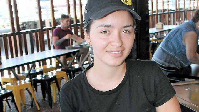 ENJOYING GLADSTONE: Colombian-born Sandra Castaneda is new to Gladstone.