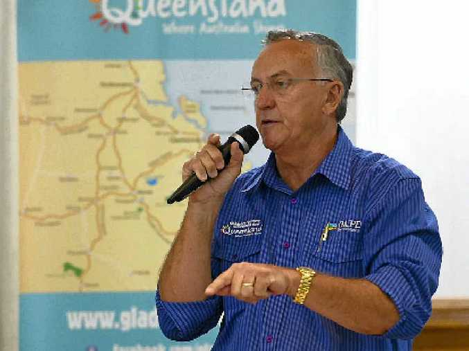 TOP IDEAS: GAPDL CEO Glenn Churchill talks tourism at Tuesday's business luncheon about future P&O; cruise liner visits.