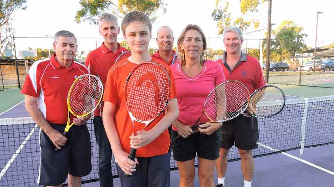 WRAPPING UP: Yeppoon Tennis Club members enjoyed a successful season and look forward to next year's.