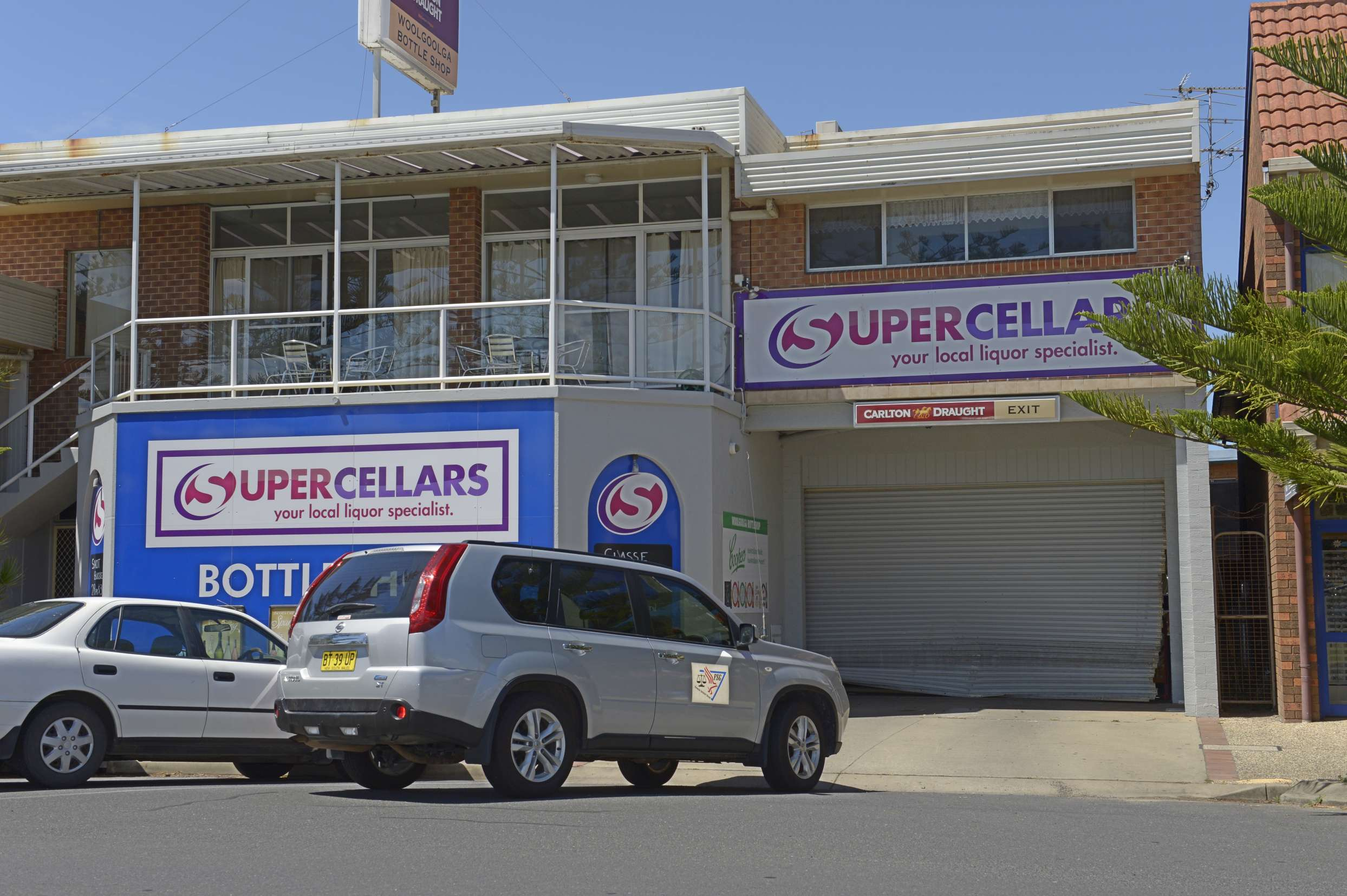 Woolgoolga's Super Cellars bottle shop in Beach St was also hit by a ram raid this morning.
