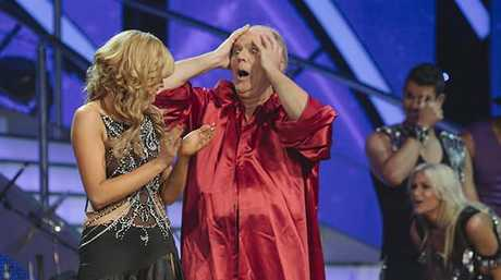 Mark Holden as the Russian leader on Dancing with the Stars.