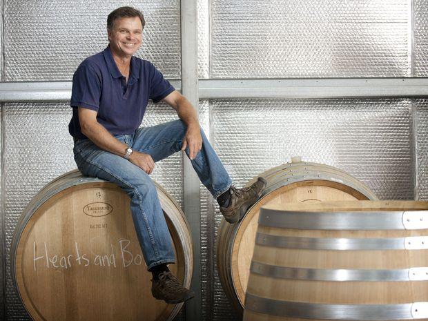 Stuart Pym, winemaker for Naked Wines Austrlaia