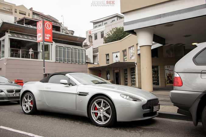 The 2007 model Aston Martin V8 Vantage Roadster.
