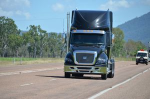 Big Rigs drove the CT630LS during a run from Townsville to Bundaberg recently. Photo Carly Morrissey / Big Rigs