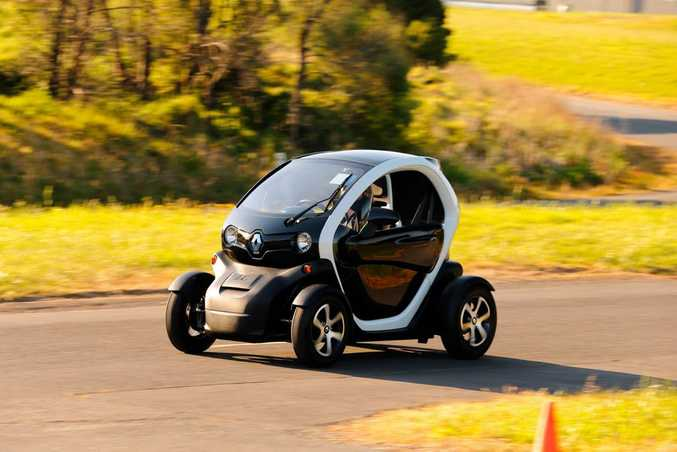 The Renault Twizy.