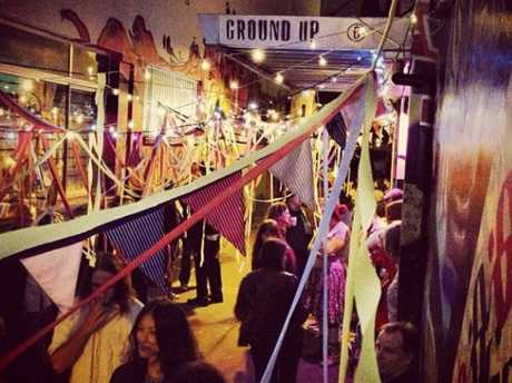 Catch live music in the laneway at Ground Up Espresso on Thursday night.