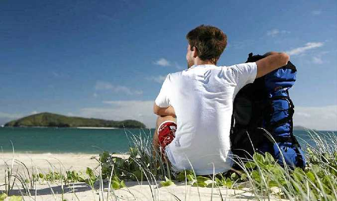 ISLAND PARADISE: There's no place better to do nothing than Great Keppel Island.
