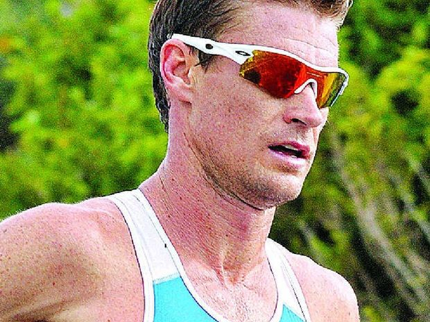 SUPER RECORD: After finishing fifth in last year's Noosa Triathlon, Brad Kahlefeldt rates himself a winning chance in this year's edition on November 2.