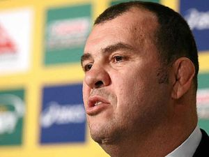 Michael Cheika's inspired to do best for Wallabies
