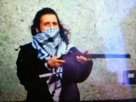 An image circulating on Twitter, believed to be Ottawa gunman Michael Zehaf-Bibeau